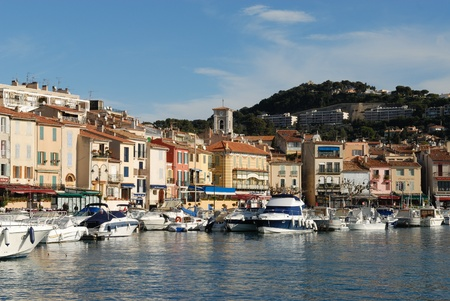 port of cassis, france  photo