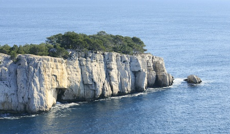 Splendid southern France coast (Calanques de Cassis), southern France  photo