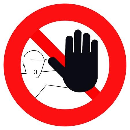 passing: pas� de se�al de advertencia de una prohibici�n, advertencia de peligro