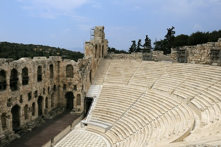 The Odeon of Herodes Atticus - theatre in Athens, Greece Stock Photo - 10098932