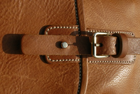 Quality leather bag hand made in europe photo