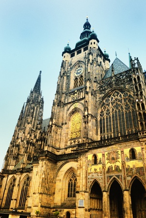 bohemia: Saint-Guy cathedral in Prague city Stock Photo