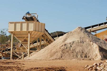 sand stone: quarry