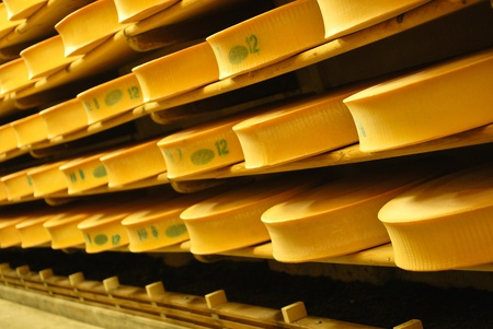 emmental: Cheese industy in France