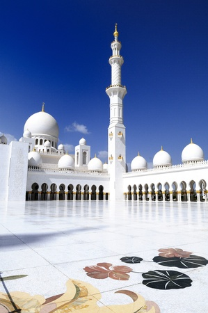 Sheikh Zayed Mosque in Abu Dhabi, United Arab Emirates photo