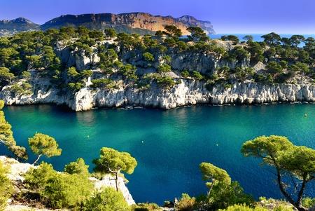 Calanques de Port-Pin à Cassis en France près de Marseille Banque d'images - 13561842