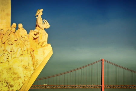 henry: The Padrao dos Descobrimentos (Monument to the Discoveries) celebrates the Portuguese who took part in the Age of Discovery. It is located in the Belem district of Lisbon, Portugal