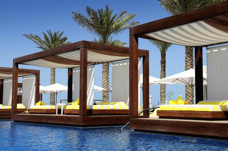 Luxus-Ort-Resort und Spa für den Urlaub