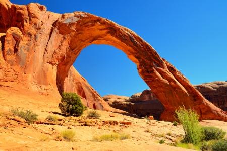 Corona Arch (Sunset) Moab, Utah. photo