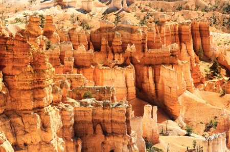 spectacular Hoodoo rock spires of Bryce Canyon, Utah, USA Stock Photo - 16113792