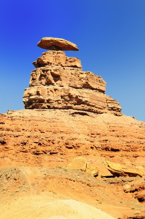 the Mexican Hat Monument, southwest, Utah, USA photo