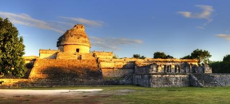 Das Observatorium in Chichen Itza, mexoco, Yucatan