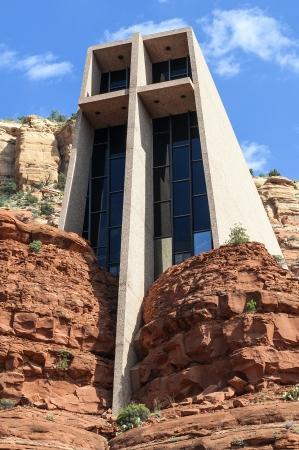 church buildings: Famous chapel of the Holy Cross, Arizona, USA