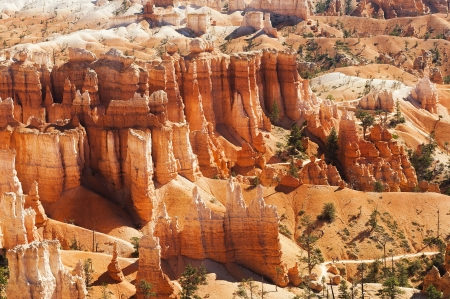 spectacular Hoodoo rock spires of Bryce Canyon, Utah, USA Stock Photo - 19490660