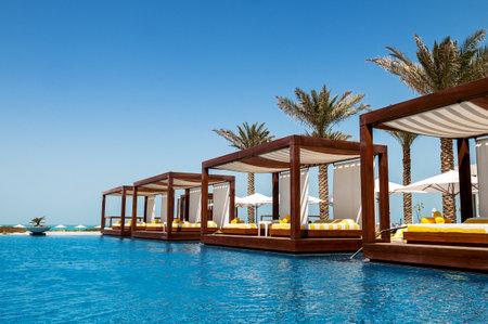 Luxe hotel resort en spa voor vakanties Stockfoto - 21154541