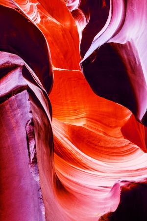The Upper Antelope Canyon, Page, Arizona, USA. The second edition with the expanded range  photo