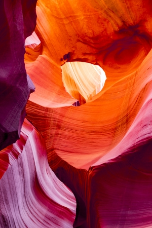 canyon walls: The Upper Antelope Canyon, Page, Arizona, USA. The second edition with the expanded range