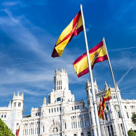cibeles: Cibeles museo and  located downtown Madrid, Spain