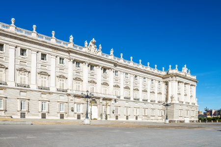 Palacio Real - Spanish Royal palace in Madrid
