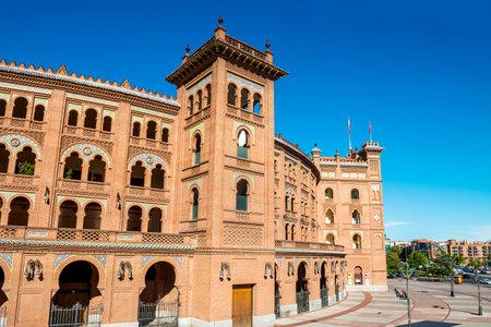 plaza de toros: Las Ventas Bullring, arenes in Madrid, Spain, Europe Editorial