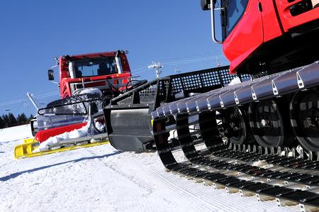 snow grooming machine: Ratrak, grooming machine, special snow vehicle