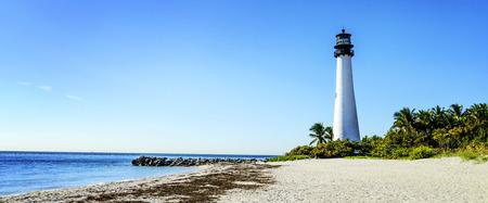 key biscane: Cape Florida Faro, Key Biscayne, Miami, Florida, EEUU