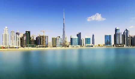 Dubai skyline, United Arab Emirates Archivio Fotografico