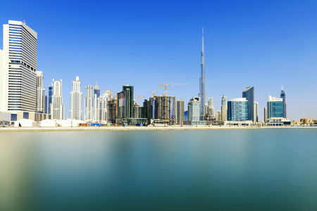 Dubai skyline, United Arab Emirates 新聞圖片