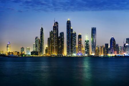 Dubai  skyline as seen from Palm Jumeirah