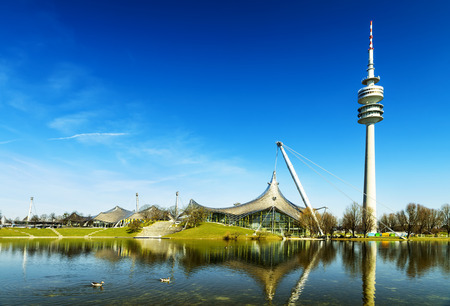 olympiapark, Munich Olympic Stadium and installation, Germany, Europe