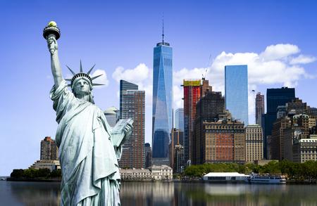 ニューヨークの街並み、観光概念写真