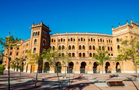 fiesta popular: Las Ventas Bullring, arenes in Madrid, Spain, Europe Editorial