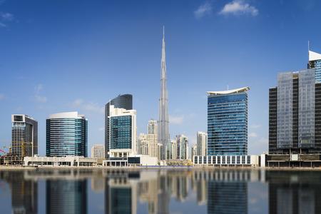Horizonte de Dubai, Emiratos Árabes Unidos