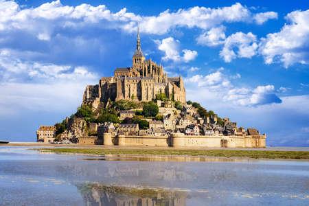 saints: Mont saint Michel - Normandy - France