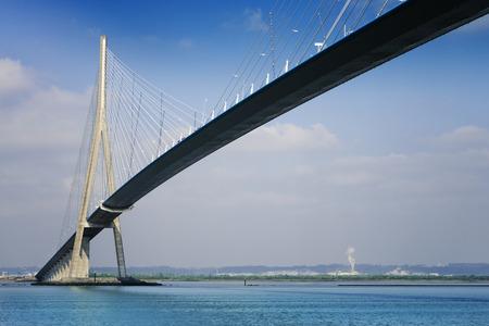 pillar of the bridge Banco de Imagens