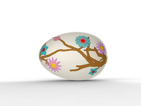 the art egg painting photo