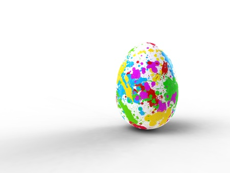 tasks on an egg Stock Photo - 12914310