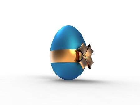 golden ribbon egg photo
