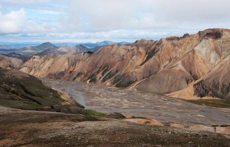 Landmannalaugar landscape, Iceland