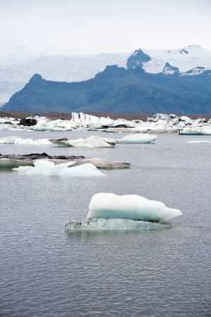 Jokulsarlon glacier lake, Iceland  photo