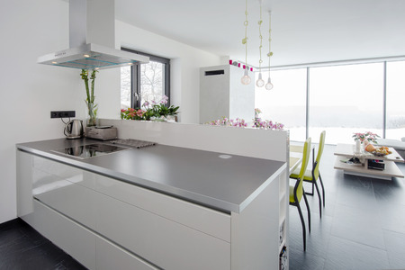 fitted: Modern kitchen interior