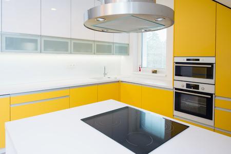 kitchen worktop: contemporary kitchen interior