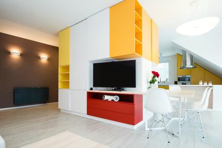 contemporary living room interior Stock Photo