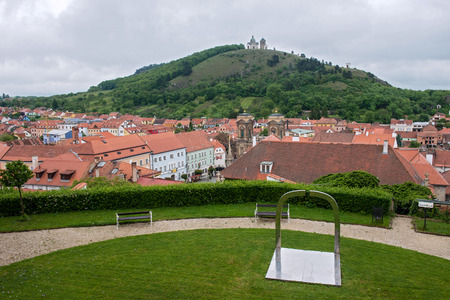 Mikulov - view from the castle, Czech Republic photo