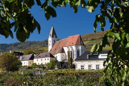 Church of St. Maurice in Wachau valley, Spitz, Austria
