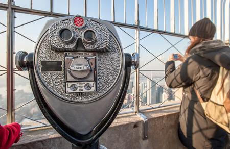 binocular on empire nyc photo