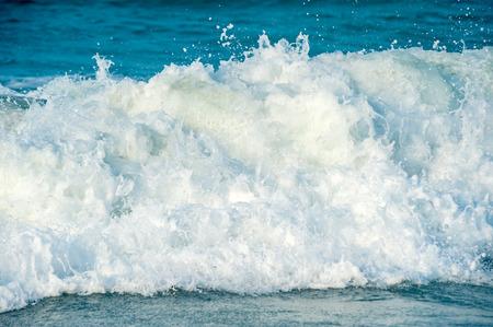 skim: sea skim Stock Photo