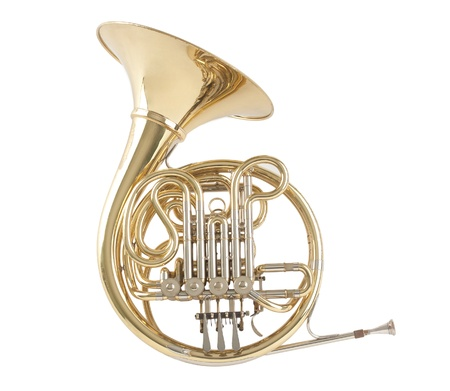 horns:  French horn the sound of music
