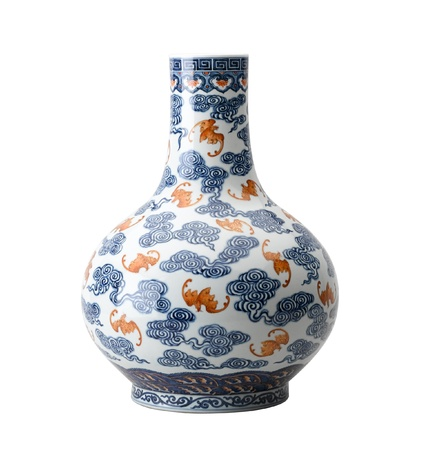 Beautiful Chinese antique vase for collector Stock Photo - 15772054