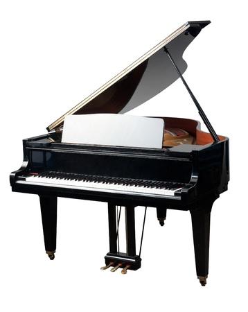 piano de cola: El piano de cola son de la m�sica Foto de archivo